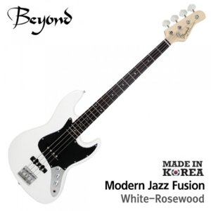 Beyond 비욘드 베이스기타 Modern Jazz Bass FUSION White(R)뮤직메카