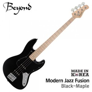Beyond 비욘드 베이스기타 Modern Jazz Bass FUSION Black (M)뮤직메카